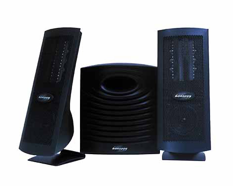 Monsoon desktop speakers